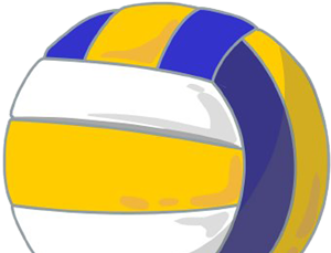 Volleyball PNG Image   Volleyball clipart, Volleyball, Sports clips